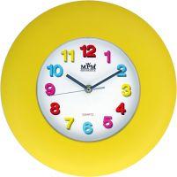 Pestrobarevné nástěnné hodiny pro děti s barevnými číslicemi..0468