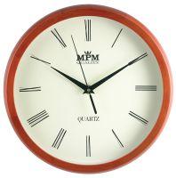 Elegantní dřevěné hodiny s jednoduchým ciferníkem..0599