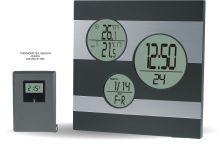 Moderní digitální meteostanice s teplotním senzorem..0568