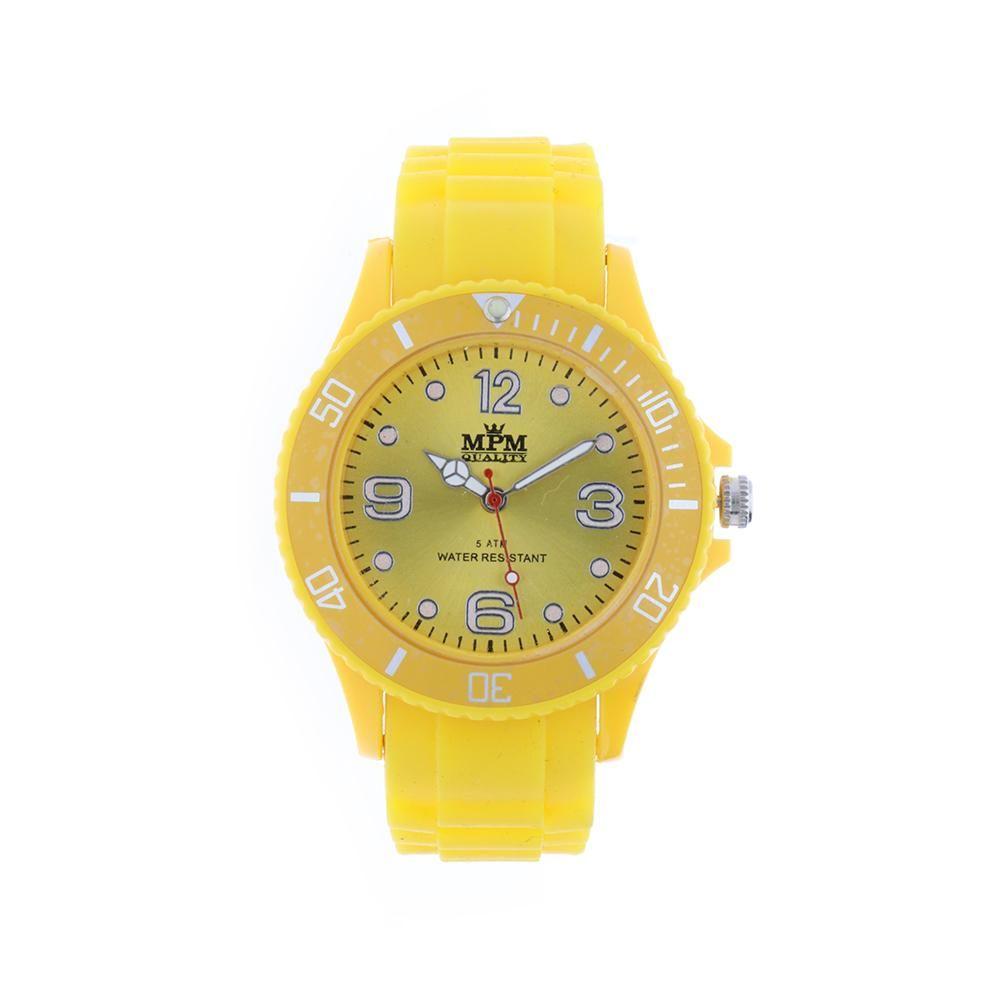Sportovní barevné hodinky se silikonovým řemínkem..0879 B.Q00M1000C10