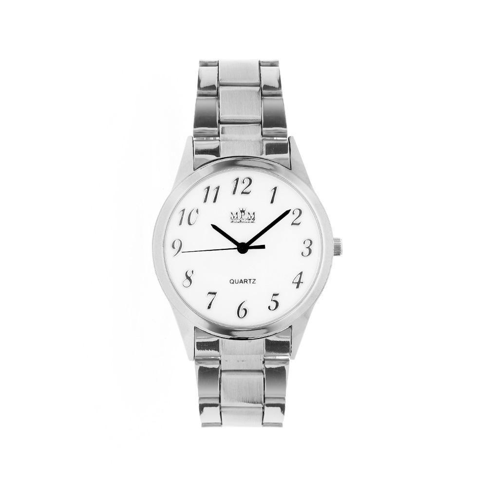 Nástěnné hodiny Pánské quartz hodinky s kovovým tahem..0981 Nástěnné hodiny af07d27a853