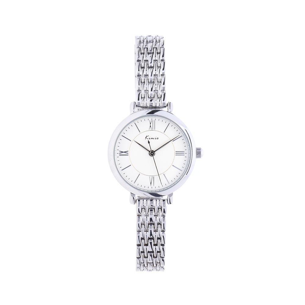 Módní dámské hodinkyKIMIO s nerezovým tahem a nerezovým víčkem..01233 A.Q00I0070A7070.1614