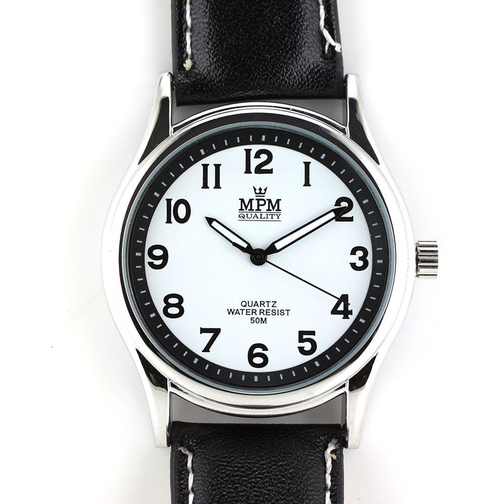 Pánské klasické hodinky s luminiscenčními ručičkami..0238 A.Q00I0090B90