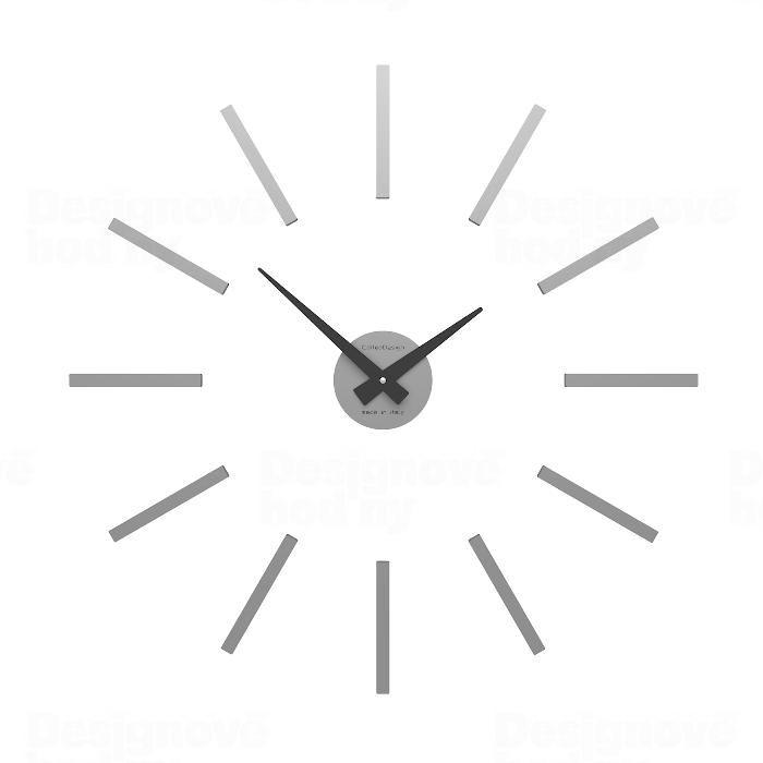 Designové hodiny 10-301 CalleaDesign (více barev) Barva šedomodrá tmavá - 44