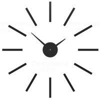 Nástěnné hodiny Designové hodiny 10-301 CalleaDesign 62cm (více barev) Barva broskvová světlá-22 Nástěnné hodiny