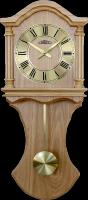 Dřevěné nástěnné hodiny PRIM s historickým nádechem..01346