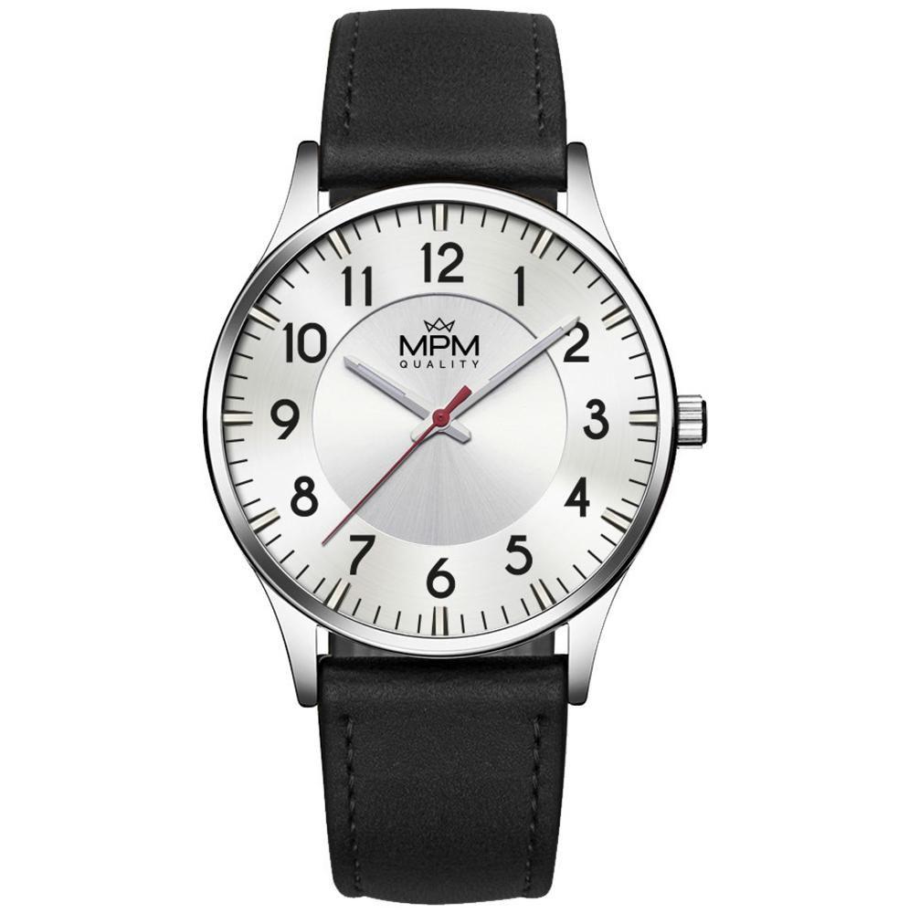 Pánské klasické hodinky MPM s čitelným ciferníkem..01355 A.Q00I0090B9090.22
