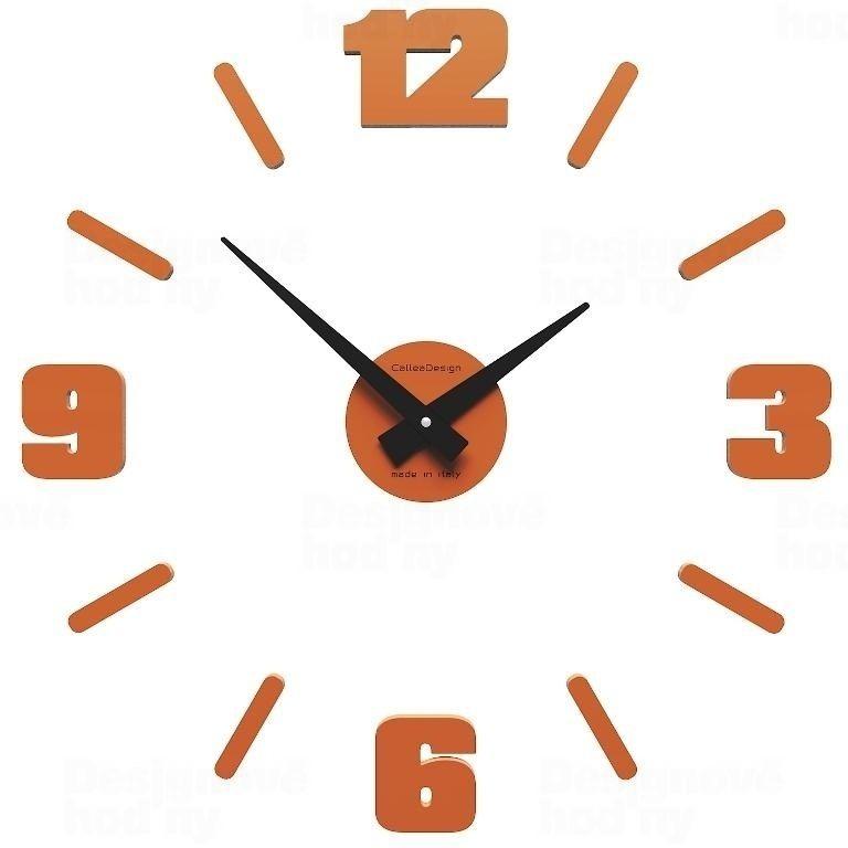 Nástěnné hodiny Designové hodiny 10-304 CalleaDesign Michelangelo S 50cm (více barevných verzí) Barva béžová (tělová)-23 Nástěnné hodiny