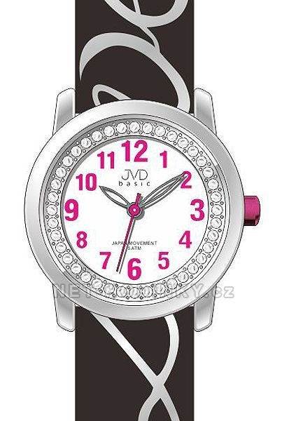 Náramkové dívčí hodinky JVD basic J7138.2.2, J7138.3.3, dětské hodinky pro holky J7138.3.3