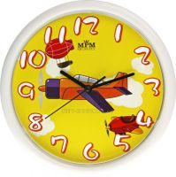 Nástěnné hodiny na stěnu, dětské nástěnné hodiny na zeď SWEEP