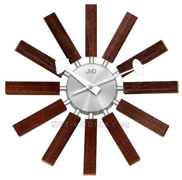 JVD Nástěnné hodiny na stěnu, nástěnné hodiny na zeď HT103.2.2