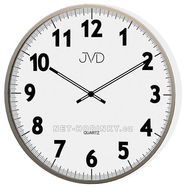 JVD Nástěnné hodiny na zeď, hodiny do kuchyně H13.1.1