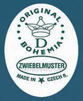 stolní hodiny quartz, krbové hodiny cibulák český porcelán Porcelán Dubí