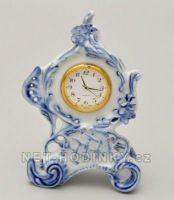 stolní hodiny porcelán
