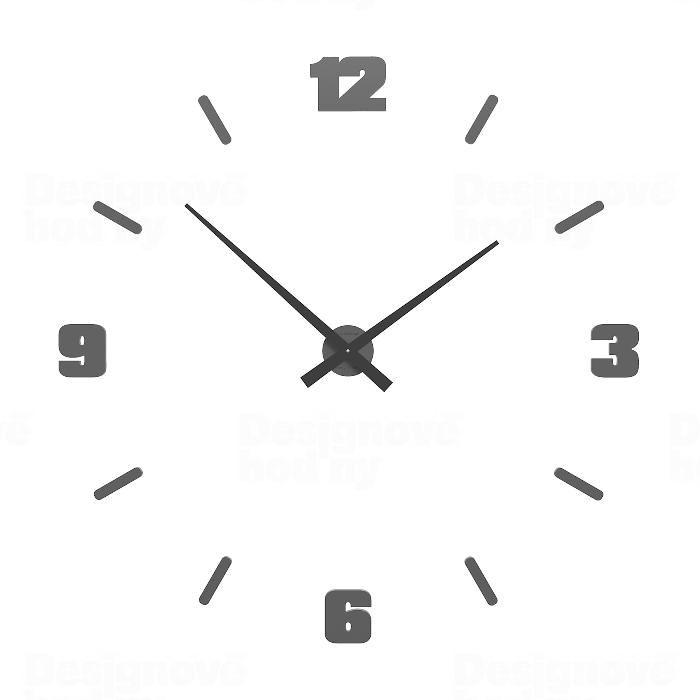 Designové hodiny 10-306 CalleaDesign Michelangelo L 100cm (více barevných verzí) Barva růžový oblak (tmavší) - 33