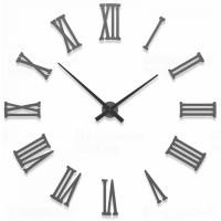 Designové hodiny 10-310 CalleaDesign 124cm (více barev) Barva béžová (tělová)-23