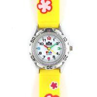Dětské hodinky s barevným silikonovým řemínkem..0356
