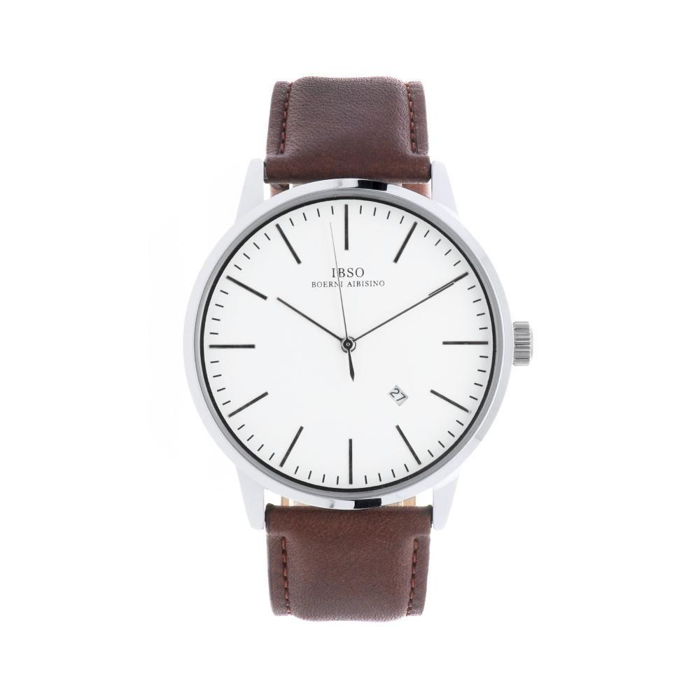 Pánské elegantní klasické hodinky s koženým řemínkem..01434 A.Q00I0270G5050.2220