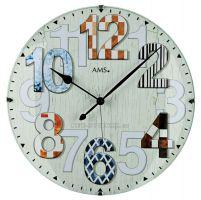 Nástěnné hodiny AMS 5951 rádiem řízené