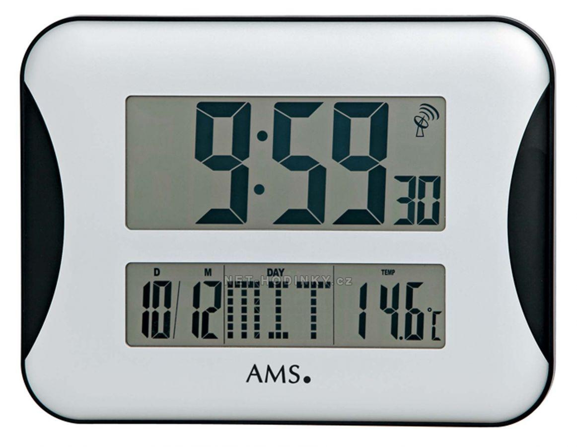 Digitální nástěnné hodiny AMS 5894
