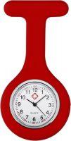 Hodinky pro zdravotní sestry silikonové - červené