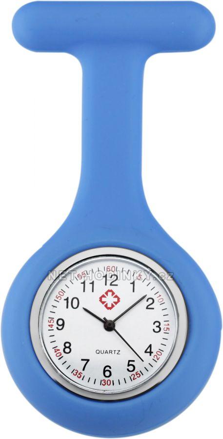 hodinky pro zdravotnický personál novinka, hodinky NURSE WATCH zdravotní sestry sv. modrá