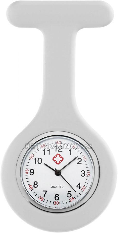 hodinky pro zdravotnický personál novinka, hodinky NURSE WATCH zdravotní sestry bílá