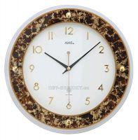 Nástěnné hodiny AMS 5853, AMS 5854 rádiem řízené
