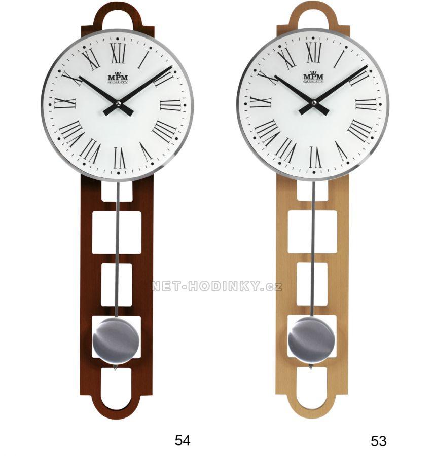 kyvadlové hodiny na stěnu E05.3185