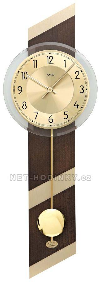 Kyvadlové hodiny na stěnu AMS 7412, AMS 7414, AMS 7415, AMS 7415/1 AMS 7412