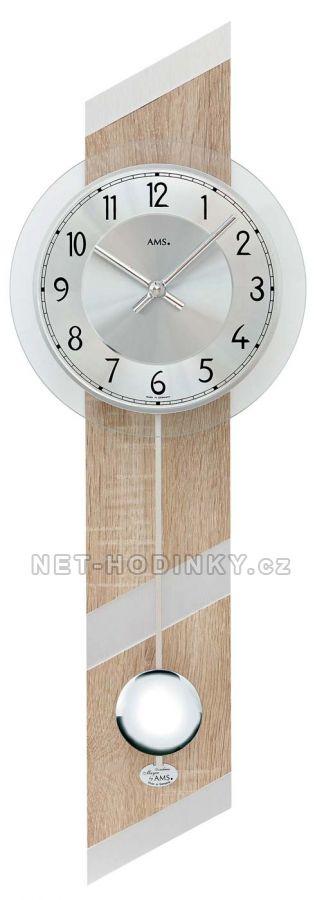 Kyvadlové hodiny na stěnu AMS 7412, AMS 7414, AMS 7415, AMS 7415/1 AMS 7415