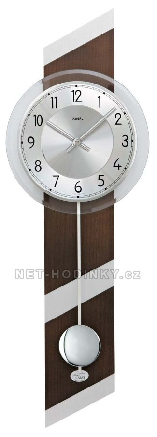 Kyvadlové hodiny na stěnu AMS 7412, AMS 7414, AMS 7415, AMS 7415/1 AMS 7415/1