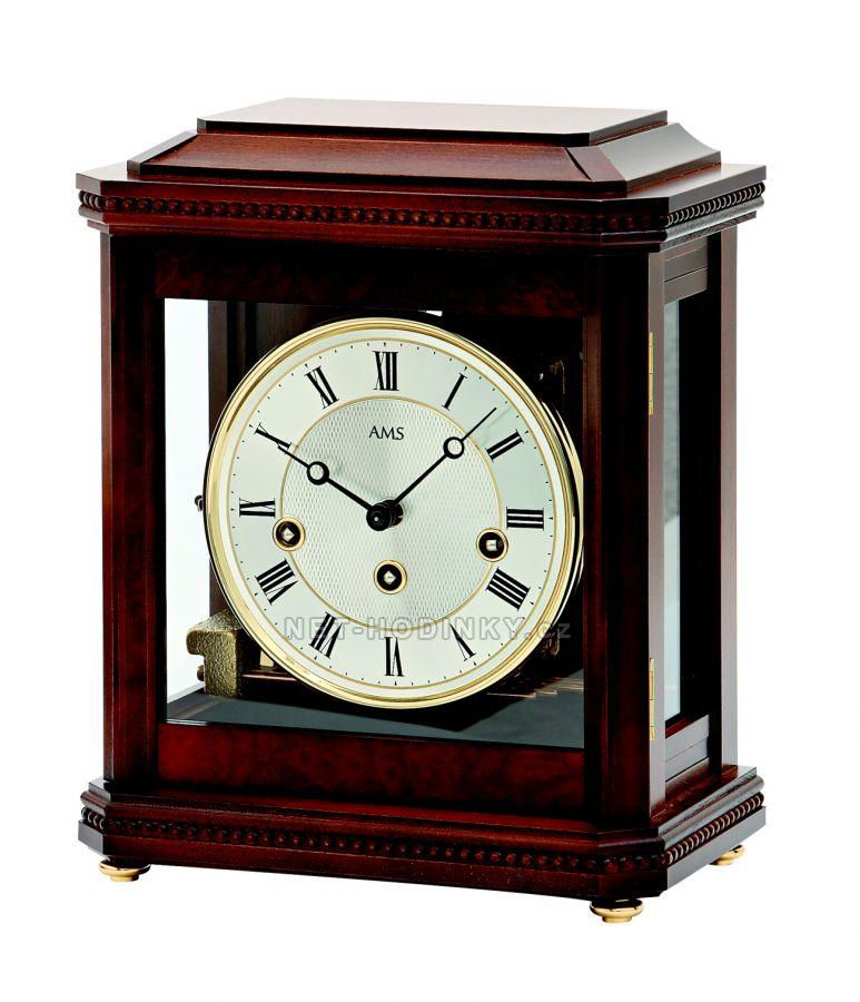 Mechanické stolní hodiny AMS 2196/1 8 denní, 4/4 westminster