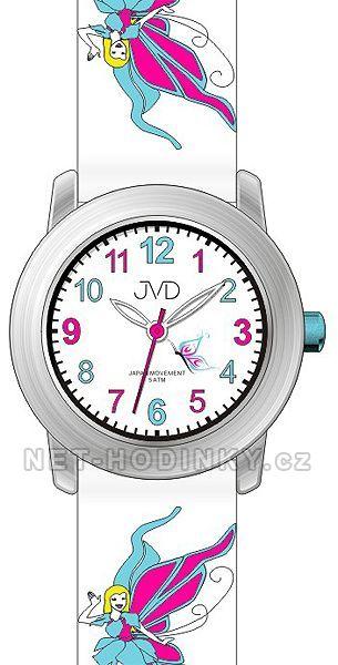 JVD Náramkové dívčí hodinky, dětské hodinky pro holky, pro kluky, hodinky chlapecké J7161.1.1