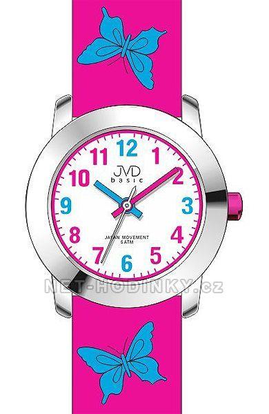 JVD Náramkové dívčí hodinky, dětské hodinky pro holky J7142.3.5