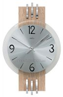 Dřevěné nástěnné hodiny AMS 9228