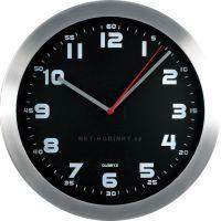 Nástěnné hodiny Nástěnné hodiny na zeď, hodiny na stěnu kovové do kanceláře Nástěnné hodiny
