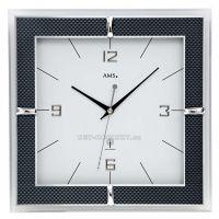 Nástěnné hodiny AMS 5855 rádiem řízené