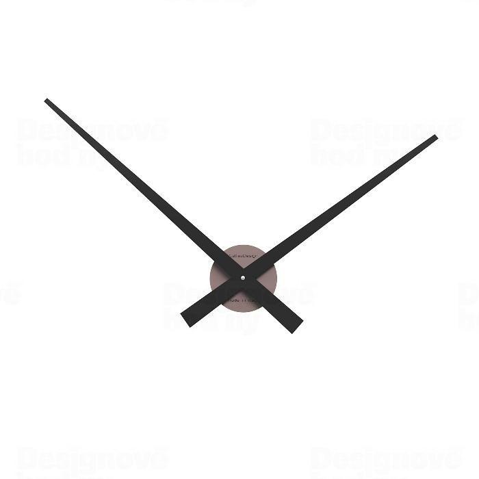 Nástěnné hodiny Designové hodiny 10-313 CalleaDesign (více barev) Barva růžová lastura (nejsvětlejší)-31 Nástěnné hodiny