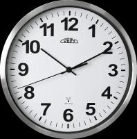 Moderní hodiny PRIM Radio Control sjednotí Váš styl interiéru. Mají kovový rám a čitelný číselník. Přesný čas zajistí funkce Radio control. Baterie 1xAA není součástí balení..014