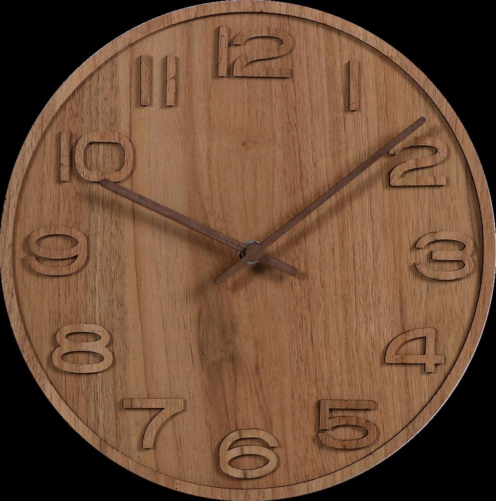 Dřevěné nástěnné hodiny MPM Quality E01.3943.50