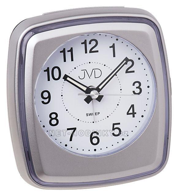 JVD Bateriový budík, budíky s tichým chodem a opakovaným buzením SRP312.3.4