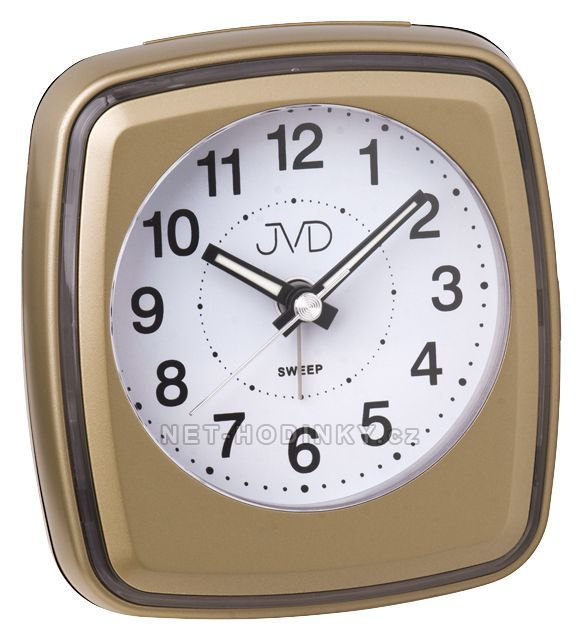 JVD Bateriový budík, budíky s tichým chodem a opakovaným buzením SRP312.4.4