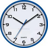 nástěnné hodiny modré
