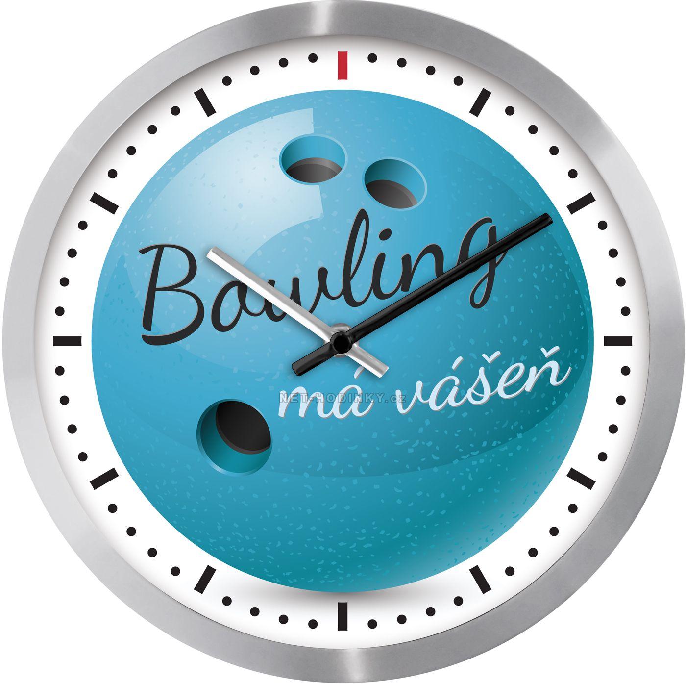 Nástěnné hodiny na stěnu Volleyball, Bowling, Basketbal, Fotbal, nástěnné hodiny na zeď, dětské hodiny H926O