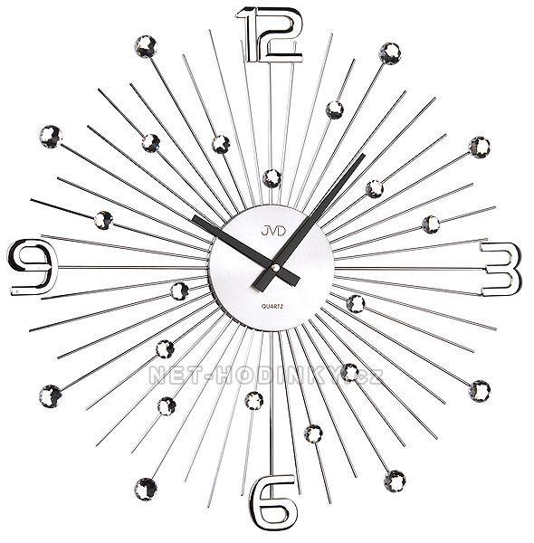 JVD Nástěnné designové hodiny na stěnu na zeď HT074