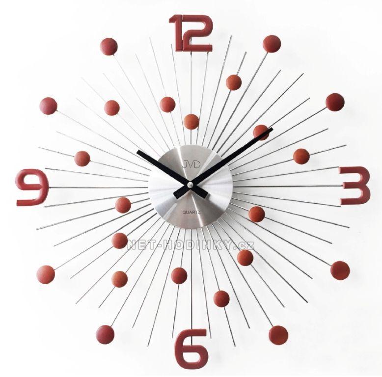 JVD Nástěnné designové hodiny na stěnu na zeď HT074.3