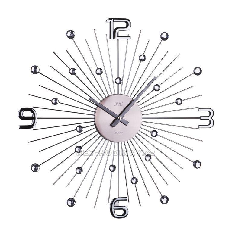 JVD Nástěnné designové hodiny na stěnu na zeď HT074.2