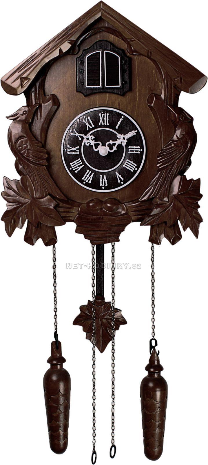 Nástěnné hodiny kyvadlové, kukačkové hodiny na zeď ruční práce