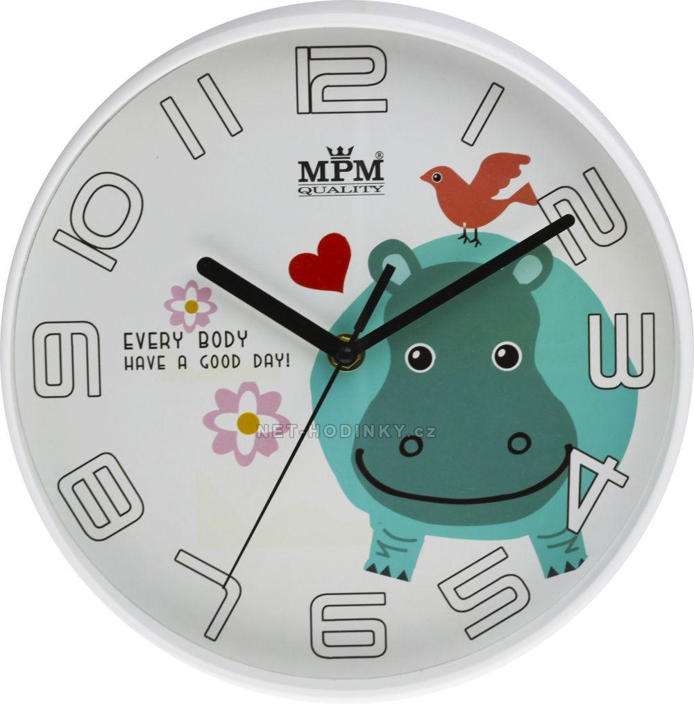 Nástěnné hodiny na stěnu, nástěnné hodiny na zeď, dětské hodiny